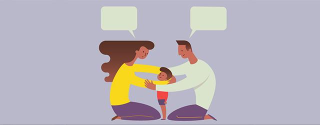حرف زدن والدین با کودکان