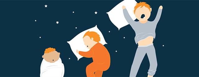 میزان خواب کودک